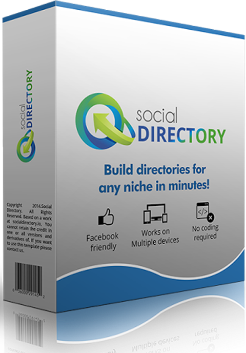 Social Directory Pro with developer license